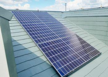 岐阜県 ソーラー蓄電池 カナディアン・タブチ・屋根塗装